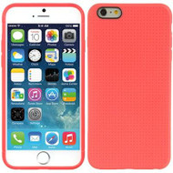 Perforated TPU Case for iPhone 6 Plus - Hot Pink