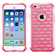 GloCase Hybrid Protector Cover for iPhone 6 / 6S - Brick Hot Pink