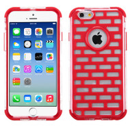 GloCase Hybrid Protector Cover for iPhone 6 / 6S - Brick Red