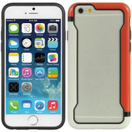 Protective Bumper Case for iPhone 6 - Red White