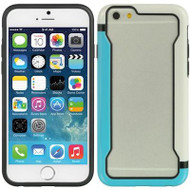 Protective Bumper Case for iPhone 6 - White Blue