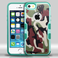 Military Grade Certified TUFF Merge Graphic Hybrid Case for iPhone SE / 5S / 5 - Camouflage