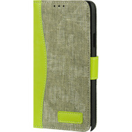 Smart Flip Wallet Case for Samsung Galaxy Note 4 - Green