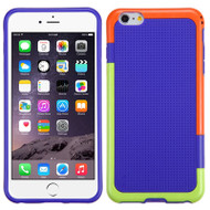 Multi-Color Perforated TPU Case for iPhone 6 Plus / 6S Plus - Purple