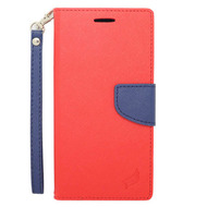 Leather Wallet Shell Case for iPhone 6 Plus / 6S Plus - Red
