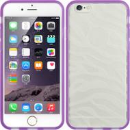 Zebra Hybrid Flex Fusion Case for iPhone 6 - Purple