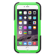 Maximum Armor Hybrid Case for iPhone 6 Plus / 6S Plus - Black Green