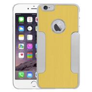 Aluminum Alloy Hybrid Armor Case for iPhone 6 Plus / 6S Plus - Gold Chrome
