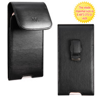 *SALE* Leather Vertical Hip Case - Black
