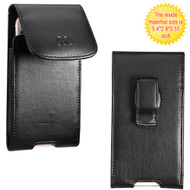 *SALE* Leather Vertical Hip Case - Black 11352