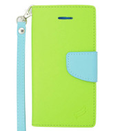 Leather Wallet Shell Case for iPhone 6 / 6S - Green