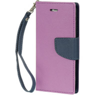 Leather Wallet Shell Case for iPhone 6 / 6S - Purple