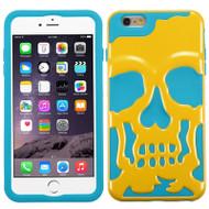 Skullcap Hybrid Case for iPhone 6 Plus / 6S Plus - Yellow Teal