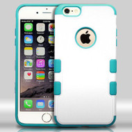 Military Grade Certified TUFF Merge Hybrid Case for iPhone 6 Plus / 6S Plus - White Teal