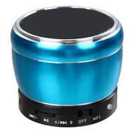 Mobile Bluetooth Wireless Speaker with Hands-Free Speakerphone - Blue