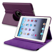 *SALE* 360 Degree Smart Rotary Leather Case for iPad Air 2 - Purple