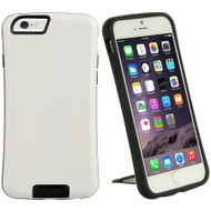 SmartView Dual-Layer Stand Case for iPhone 6 / 6S - White