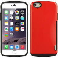 Fusion Candy Case with Card Insert for iPhone 6 / 6S - Red