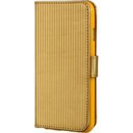 Metallic Portfolio Wallet Case for iPhone 6 - Gold