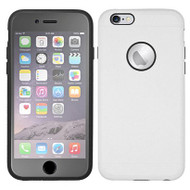3-IN-1 Hybrid Case with Integrated Screen Protector for iPhone 6 Plus / 6S Plus - White Grey