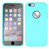 3-IN-1 Hybrid Case with Integrated Screen Protector for iPhone 6 Plus / 6S Plus - Mint