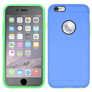 3-IN-1 Hybrid Case with Integrated Screen Protector for iPhone 6 / 6S - Blue Green