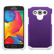 *Sale* Hybrid Multi-Layer Armor Case for Samsung Galaxy Avant - Purple White