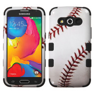 Military Grade Certified TUFF Image Hybrid Case for Samsung Galaxy Avant - Baseball