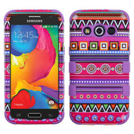 Military Grade TUFF Image Hybrid Case for Samsung Galaxy Avant - Tribal Fashion