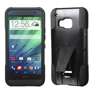 *Sale* Fusion Multi-Layer Hybrid Kickstand Case for HTC One M9 - Black