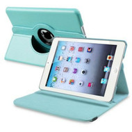 *SALE* 360 Degree Smart Rotary Leather Case for iPad Air 2 - Baby Blue