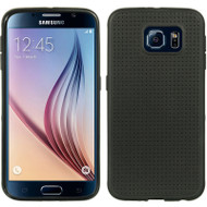 Perforated TPU Case for Samsung Galaxy S6 - Black