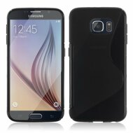 S-Line Flexi TPU Skin Cover for Samsung Galaxy S6 - Black