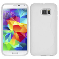 S-Line Flexi TPU Skin Cover for Samsung Galaxy S6 - White