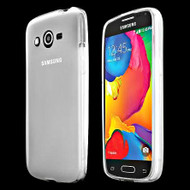 Rubberized Crystal Case for Samsung Galaxy Avant - Frost Clear