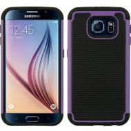 TotalDefense Hybrid Case for Samsung Galaxy S6 - Purple