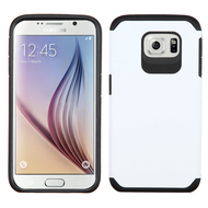 Hybrid Multi-Layer Armor Case for Samsung Galaxy S6 - White