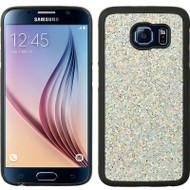 Polymer Hybrid Case for Samsung Galaxy S6 - Glitter Silver