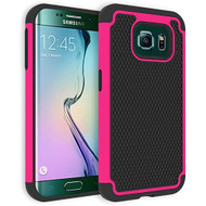 TotalDefense Hybrid Case for Samsung Galaxy S6 Edge - Hot Pink