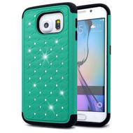 TotalDefense Diamond Hybrid Case for Samsung Galaxy S6 Edge - Green