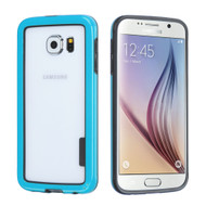 Snap-On Hybrid Bumper Case for Samsung Galaxy S6 - Blue