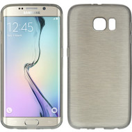Rubberized Crystal Case for Samsung Galaxy S6 Edge - Silk Smoke