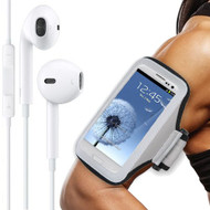All Sport Neoprene Armband and Headphones Bundle - Gray