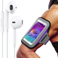 All Sports Neoprene Armband and Headphones Bundle - Purple