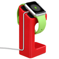 Desktop Charging Dock Stand for Apple Watch - Red