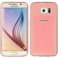 Ultra Thin Rubberized Crystal Case for Samsung Galaxy S6 - Pink