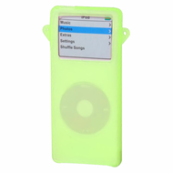 Silicone Skin Cover for 1st Generation iPod Nano - Green