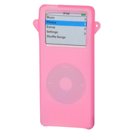 Silicone Skin Cover for 1st Generation iPod Nano - Pink