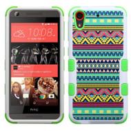 Military Grade TUFF Image Hybrid Case for HTC Desire 650 / 626 / 555 / 550 / 530 - Tribal Sun
