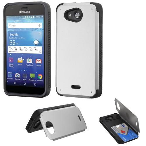 watch b21bd 0975f Sale* Credit Card Hybrid Kickstand Case for Kyocera Hydro Air ...
